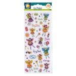 Fun Stickers Floral Fairies