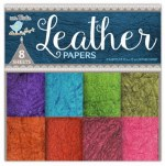 Paper Pk 12x12 LB Leather 8pk