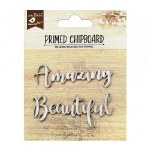 Chipboard LB Amazing Beautiful