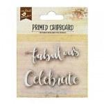Chipboard LB Fab Celebrate