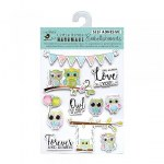 Stickers LB Owls 10pk
