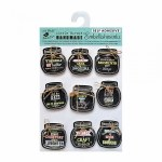 Chalk Board Stickers Mini Jars