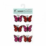 Stickers LB Butterfly Red/Pink