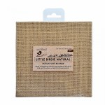 LittleBirdie Burlap Art Board - 6in x 6in, 2pcs