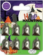 Craft Consortium Happy Haunting Metal Charms Graves