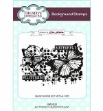 Clear Stamp A6 CE Butterfly Background