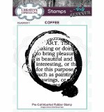 Clear Stamp Creative Expressions Coffee Art