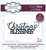 Creative Expressions Die Christmas Blessings