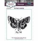Clear Stamp Creative Expressions Gypsie Queen