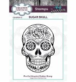 Clear Stamp Creative Expressions Sugar Skull