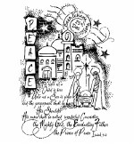 Clear Stamp Woodware The Nativity Story