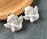 CAS Embellies Resin Angels 3pk