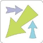 """Cuttlebug 2x2"""" Arrows"""