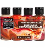 Decoart Multi Surface Molten Lava Pouring Kit 4pk