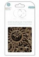 Decoupage Paper Craft Consortium Cogs