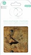 Decoupage Paper Craft Consortium Vintage Oak