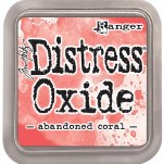 "Distress Oxide Pad 3x3"" Abandon Coral"