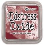"Distress Oxide Pad 3x3"" Aged Mahogany"
