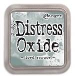 "Distress Oxide Pad 3x3"" Iced Spruce"