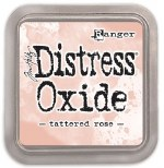 "Distress Oxide Pad 3x3"" Tattered Rose"