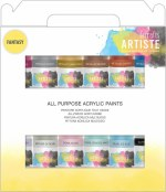 Docrafts Artiste Acrylic Pack 12x59ml Fantasy
