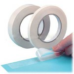 "Tape Double Sided 9mm/½"" x50m"