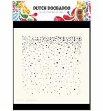 "Dutch Doobadoo Mask 6x6"" Art Snow"
