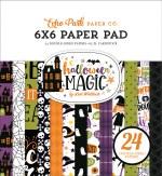 Echo Park Halloween Magic 6x6 Inch Paper Pad