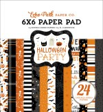 Echo Park Halloween Party 6x6 Inch Paper Pad (hp250023)