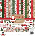 Echo Park Jingle All The Way 12x12 Inch Collection Kit