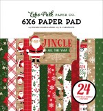 Echo Park Jingle All The Way 6x6 Inch Paper Pad