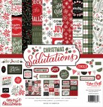 Echo Park Salutations Christmas 12x12 Inch Collection Kit