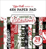 Echo Park Salutations Christmas 6x6 Inch Paper Pad