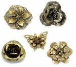 CAS Embellies Bronze Flowers
