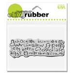 Cling Stamp Edible Easter^