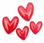 CAS Embellies Hearts 10pk