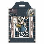 Gorjuss Rubber Stamps Santoro Tweed Th