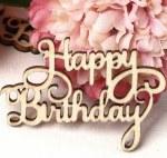 CAS Words Happy Birthday 10pk
