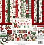Paper Pk 12x12 Echo Park Santa Claus