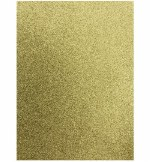 Glitter Foam Sheets A4 Gold 5pk