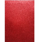 Glitter Foam Sheets A4 Red 5pk