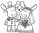 Cling Stamp Riley Wedding