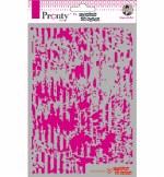 Stencil A5 Pronty Grunge Lines