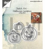 Joy Crafts Die Pumpkins