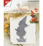 Joycrafts Diel Gnome on Mushroom