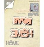 Joy Crafts Die Love & Home