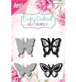 JoyCrafts Cut & Emboss Die Butterflies