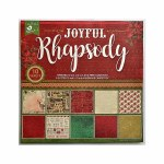LittleBirdie Joyful Rhapsody Pattern Paper 12'' x 12'', 10Sheets