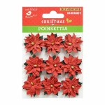 LittleBirdie Poinsettia Elegance 9Pc