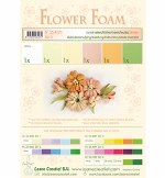 Flower Foam Set 3 Salmon Colours